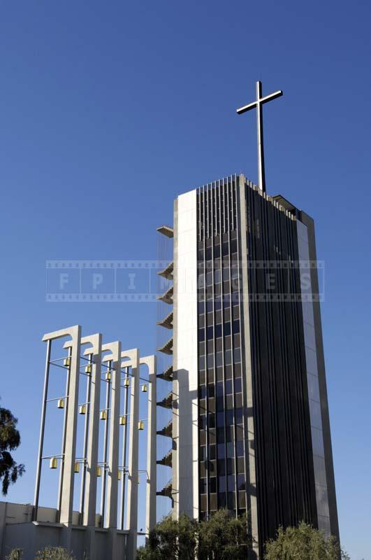 Picture of the Magnificent Crystal Cathedral Church Bells