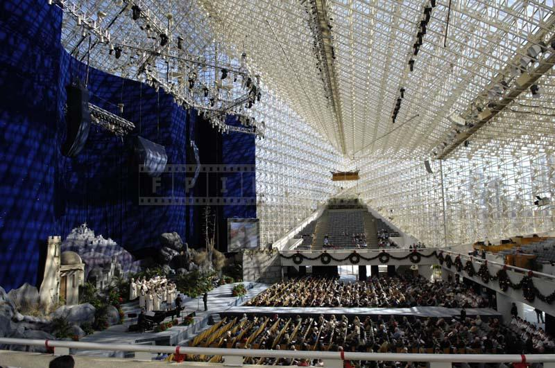 Large Seating Capacity of the Crystal Cathedral, California
