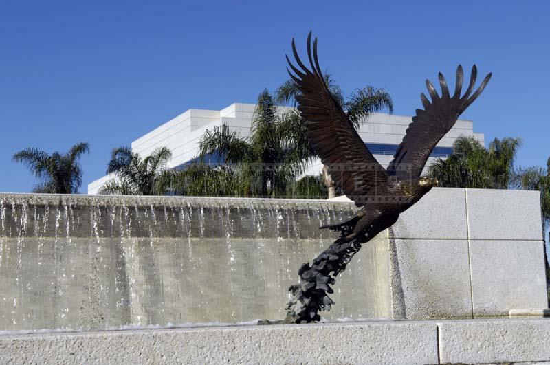 Bronze Sculpture of Eagle