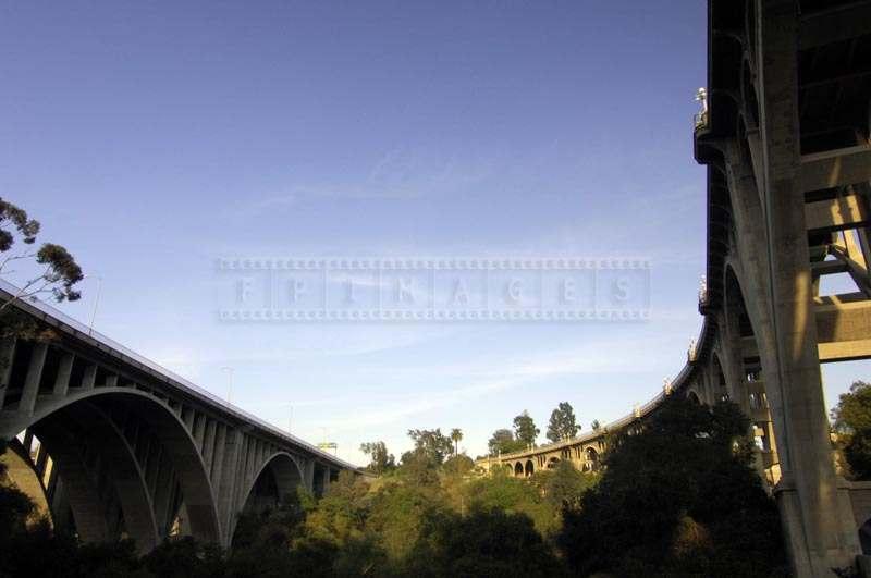 Colorado Street Bridge besides the Arroyo Seco Bridge
