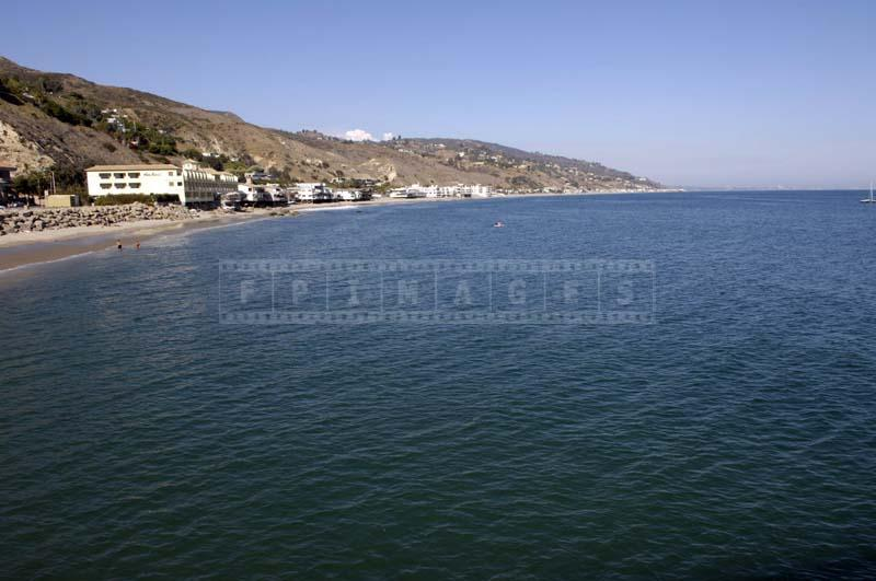 Malibu beach crescent, beach photo