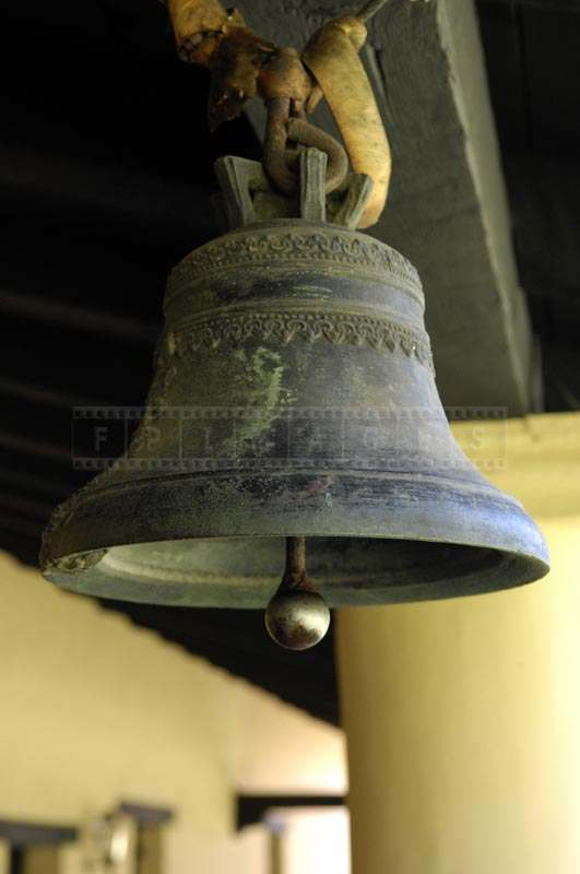 Old Russian Orthodox Bronze Bell at Mission San Fernando Rey de España