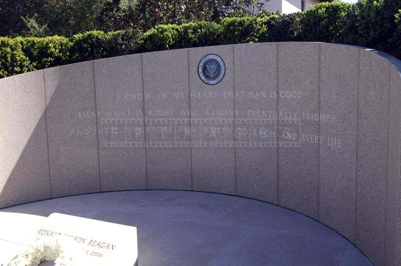Final Resting Place of President Ronald Reagan