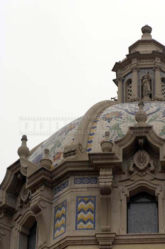 Intricate Designs on the Dome