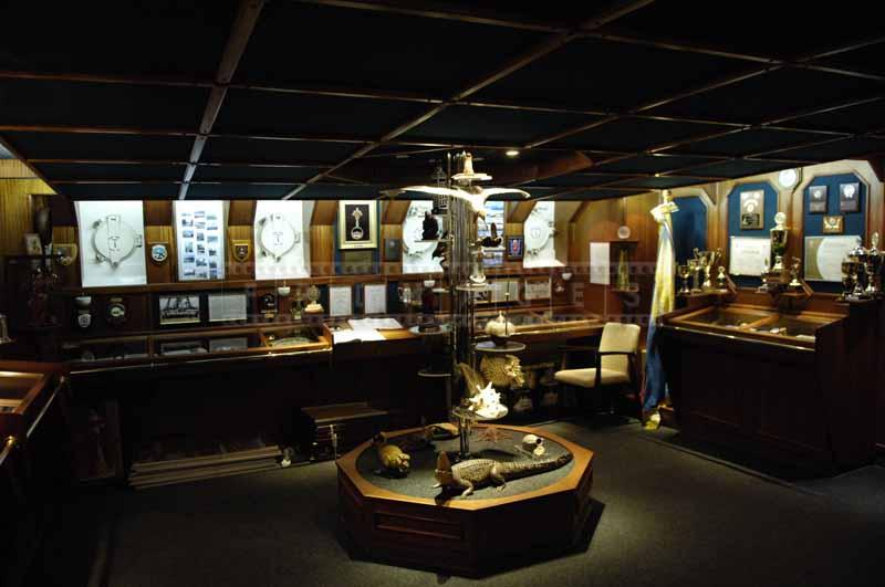 Ship Museum Exhibit