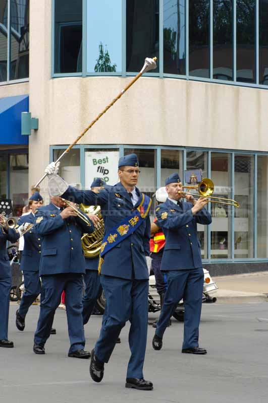 Brass band of Canada air force