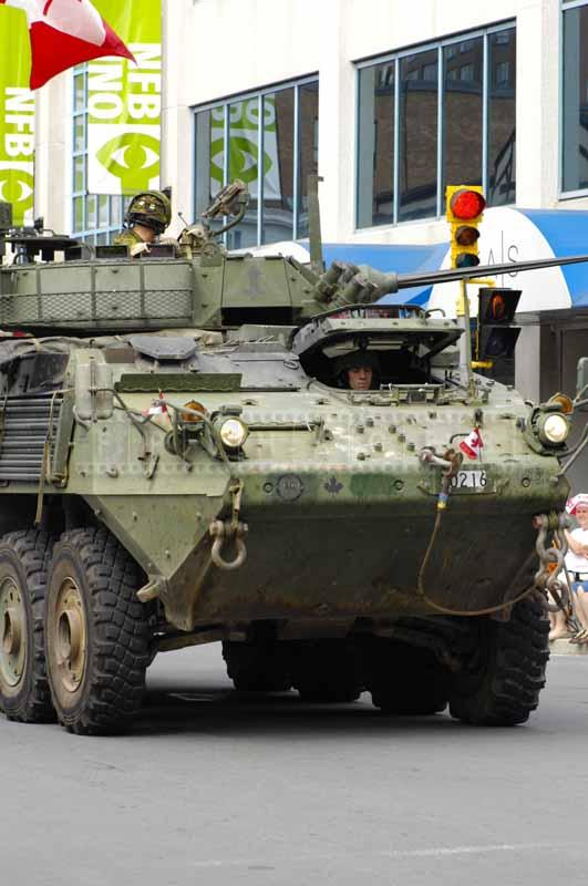 Canadina military vehicle