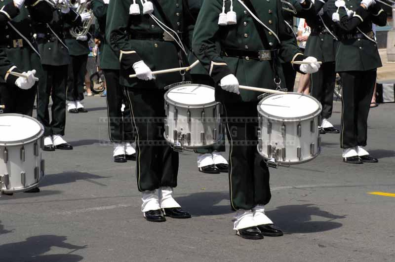 Dutch military drummers