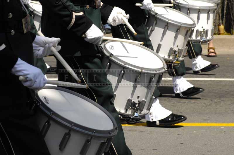 Dutch military drummers