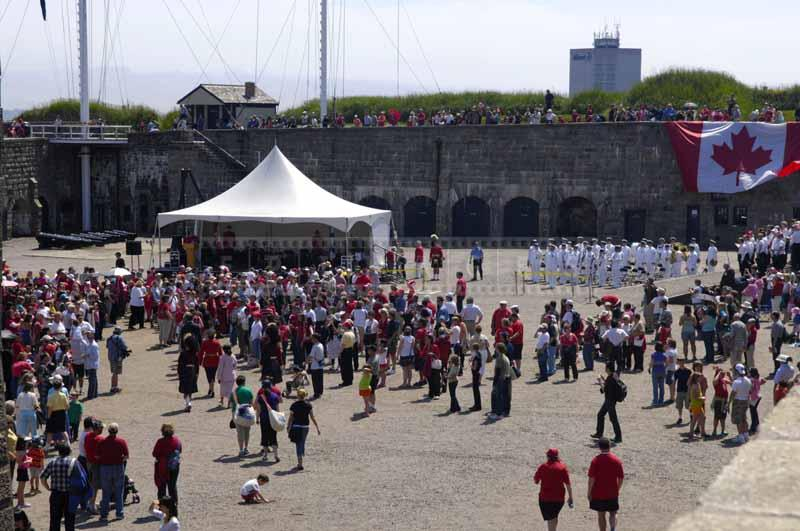 Canada Day Celebrations at the Citadel