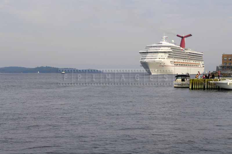 Carnival cruise ship visiting Halifax