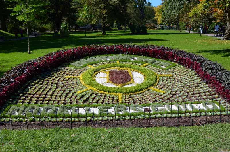 Flower Bed dedicated to Ship Modellers Guild