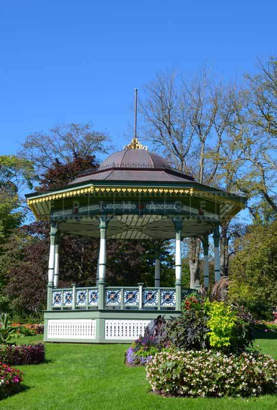 Bandstand at the gardens