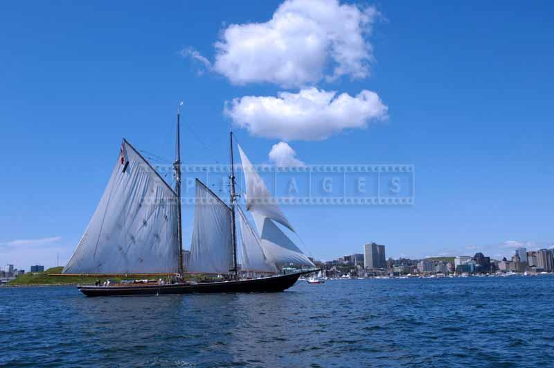 Schooner Bluenose II, nautical photos