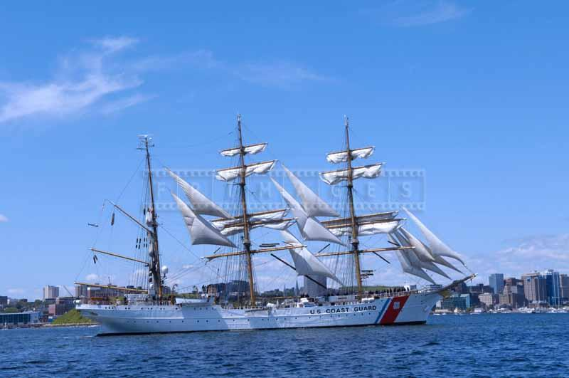 USCGC Barque Eagle during Parade of Sail in Halifax