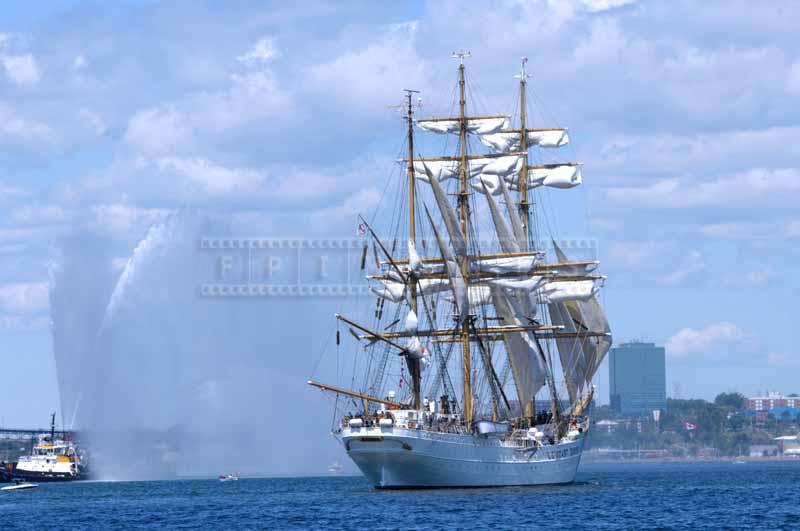 Barque Eagle aft view, nautical desktop backgrounds