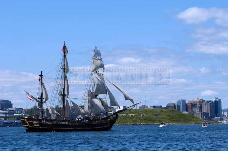 HMS Bounty and Georges Island, this tall ship was lost at sea due to storm