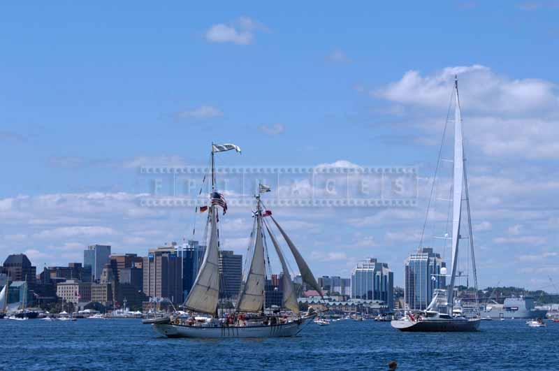 Destination Fox Harb'r and Harvey Gamage, traditional and modern tall ships