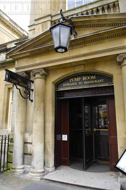 The Pump Room restaurant entrance