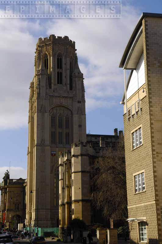 Bell tower of Wills Memorial