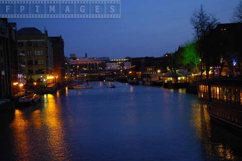 River Avon at dusk, Bristol