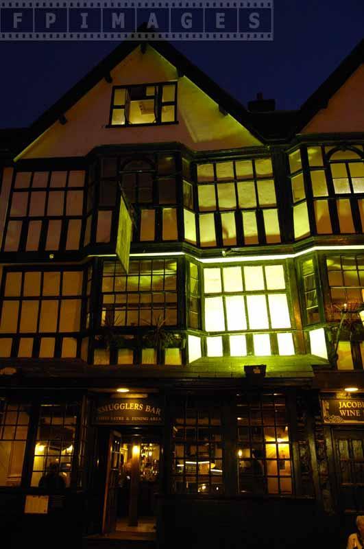famous pub Llandoger Trow