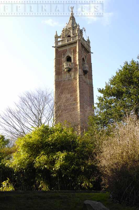 Cabot Tower dedicated to John Cabot