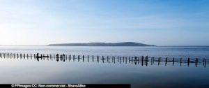Walkway at Marine Lake, free image