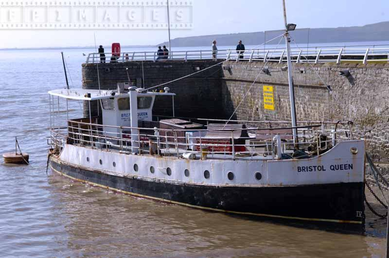 Old ship Bristol Queen