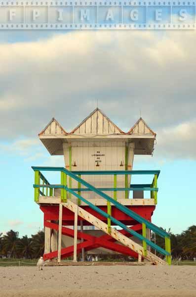 Geometric design of the lifeguard hut