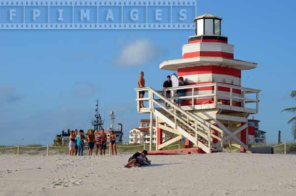 South Pointe lifeguard tower