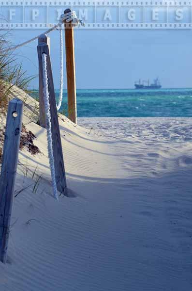Lummus park beach access sand path