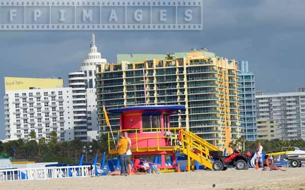 art deco designs at Miami beach