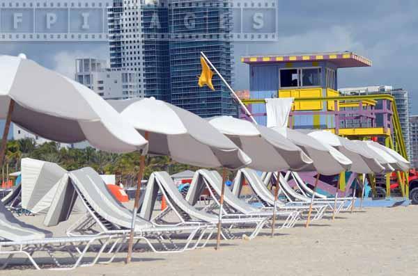 Beach scenes of Miami Beach