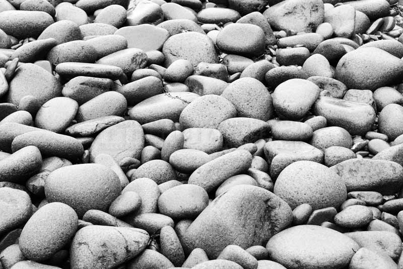 abstract images beach stones, Bay of Fundy