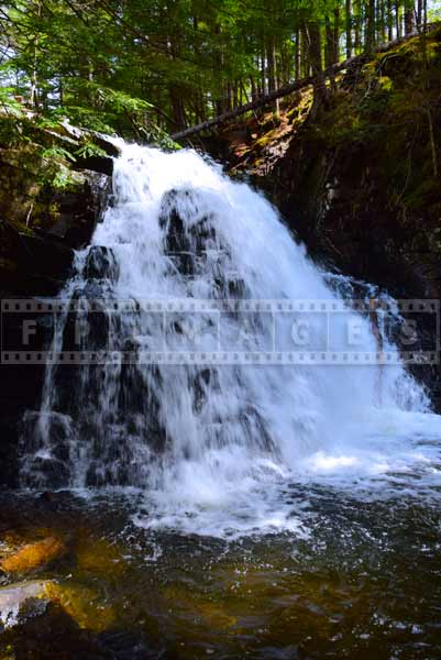 Falling water at Dawson Brook Falls, great outdoors picture