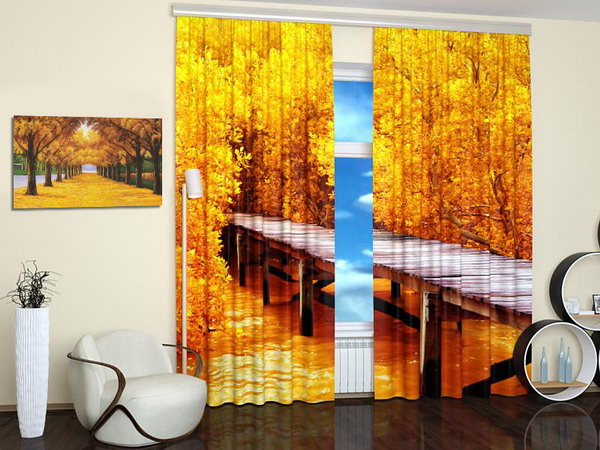 Nature Photography Turning Window Curtains Into Stylish