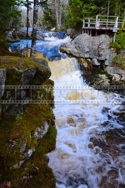 Waterfall pictures, Millet Falls Nova Scotia