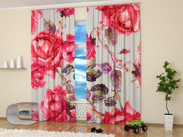 Nature Photography Turning Window Curtains Into Stylish Home Decor