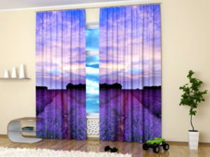 Travel images and landscape photography alternative use as a curtain