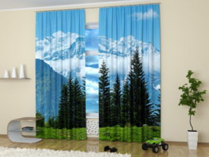 Mountains beautiful landscapes make fabulous home decorating