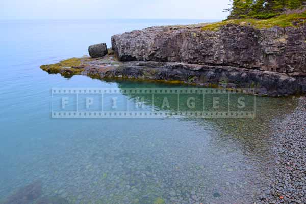 Nova Scotia hiking trails Bay of Fundy ocean nature pictures and scenic travel images