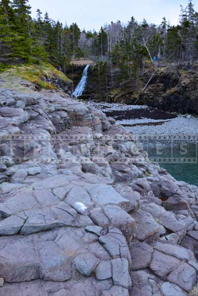 Waterfalls Picture, Nova Scotia hiking trails near Bay of Fundy