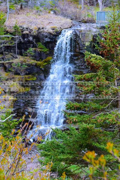 Nova Scotia waterfalls nature pictures and travel images
