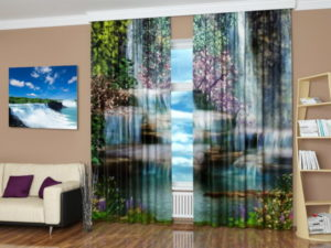 Waterfall pictures creative ideas for interior decorating