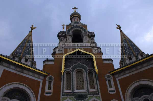 St. Nicholas Russian orthodox cathedral - Symmetry of the church architecture