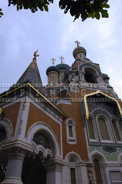 St. Nicholas Russian orthodox cathedral architecture nice france