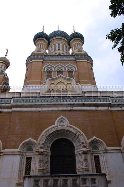 St. Nicholas Russian orthodox cathedral nice france