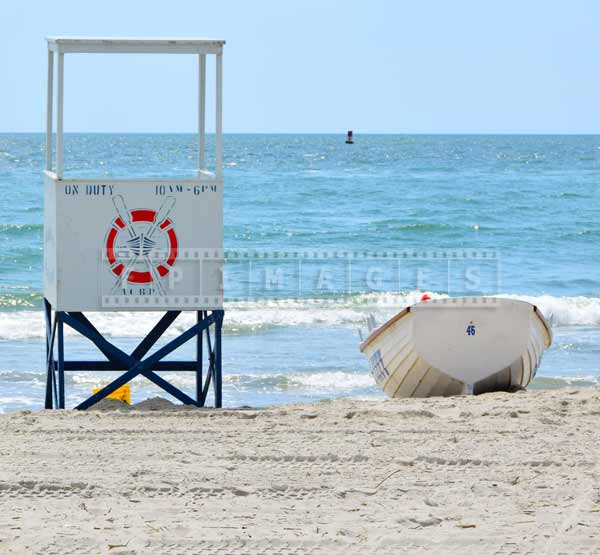 AC beach lifeguard tower