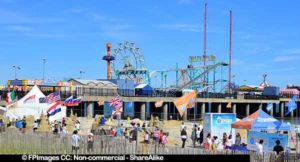 atlantic city sand castle competition near Steel Pier